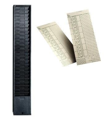 Amano Time Card Rack