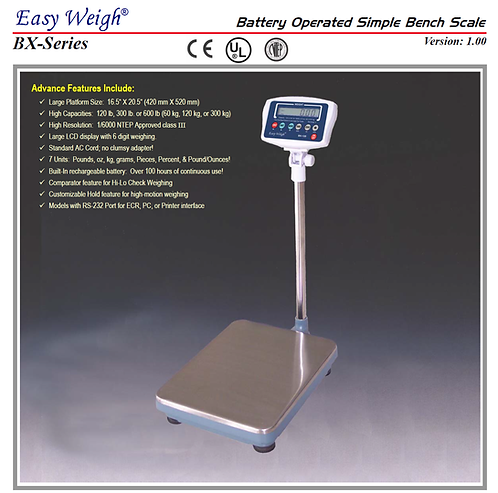 Easy Weigh BX-120+ Scale