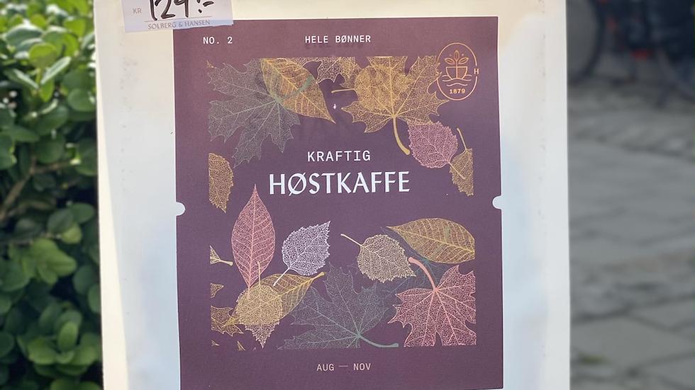 Kraftig høstkaffe
