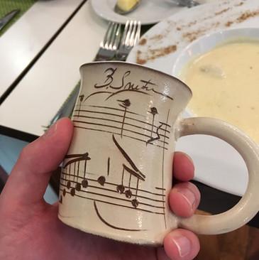 Smetana mug, Prague