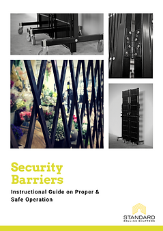 SRSPL_Security barriers_instructional gu