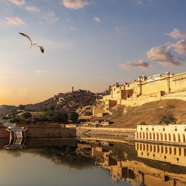 amber-fort-sunset-beautiful-view-jaipur-