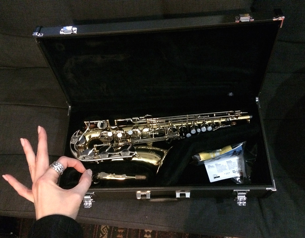 That's the end of my sax life.