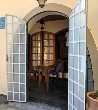Porta do hall de entrada