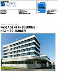 Publikation melliger&neugeboren architekten, Fassade 05/16