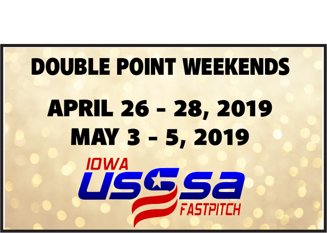 2019 Spring/Summer Double Points Weekends