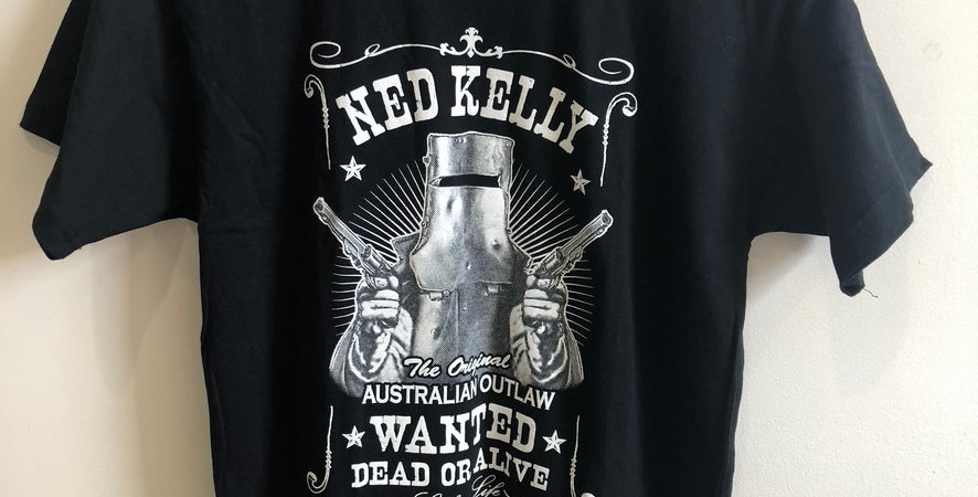 Ned Kelly WANTED T-Shirt
