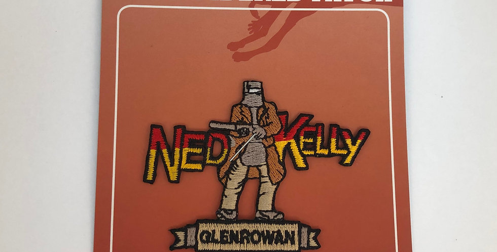 Ned Kelly Glenrowan Embroidered Patch