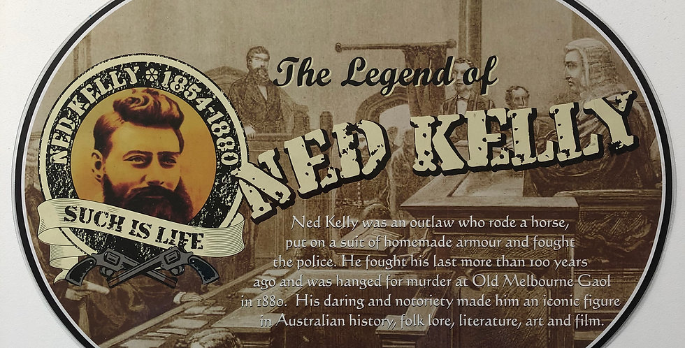 Ned Kelly Placemat