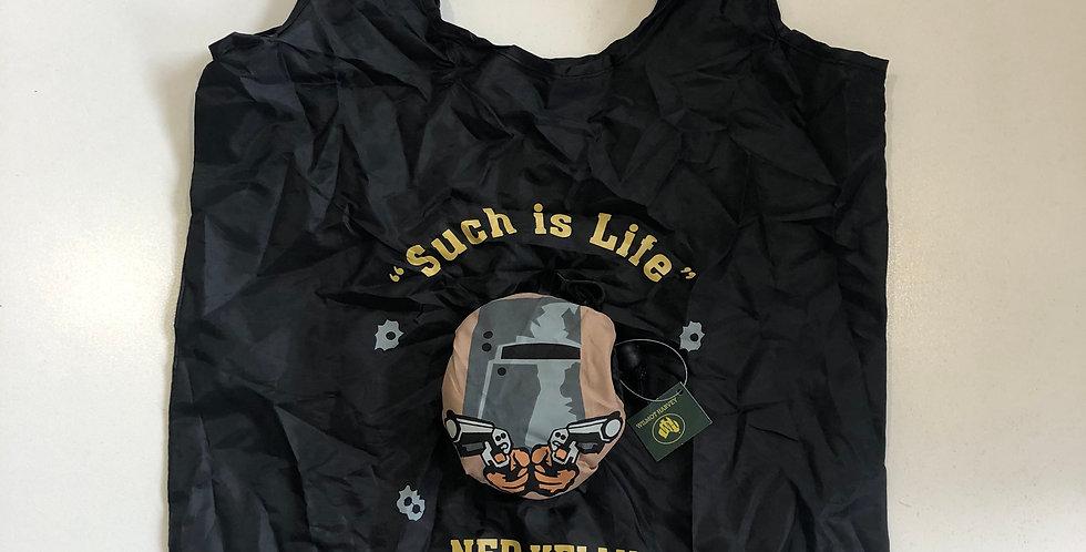 Ned Kelly Folding Shopping Bag