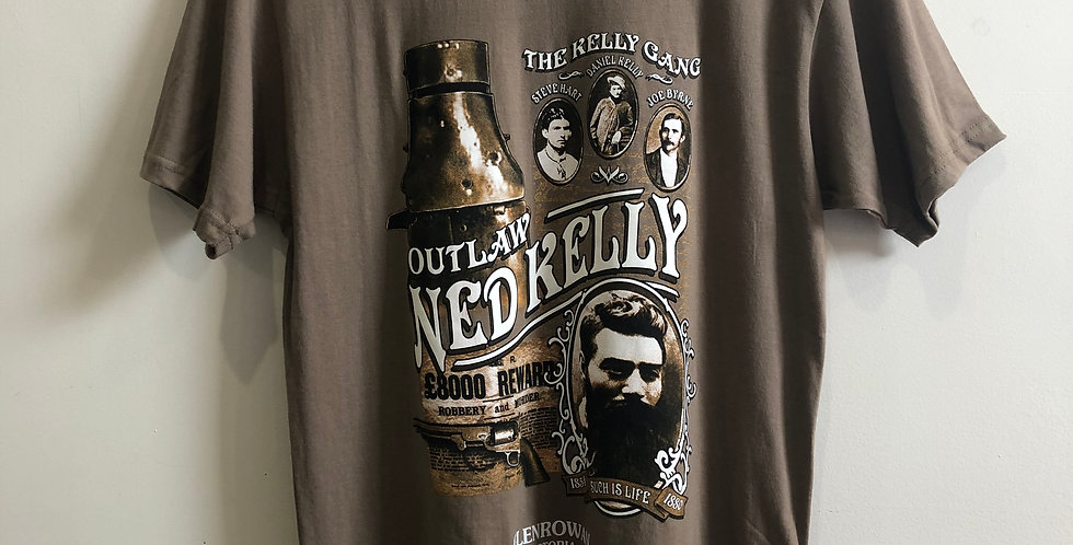 Kelly Gang Ned Kelly T-Shirt