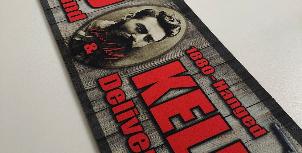 Ned Kelly Table Runner