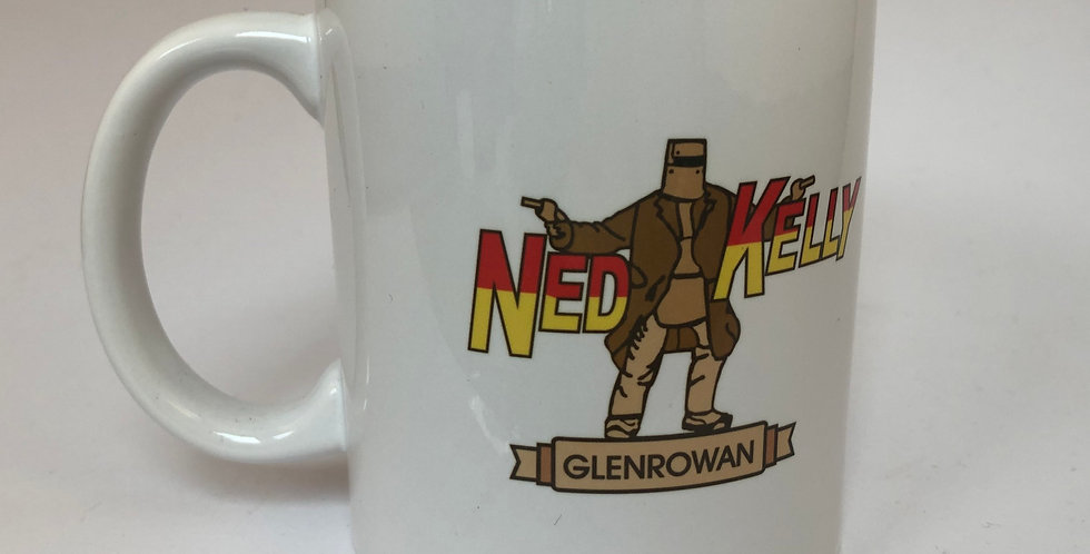 Ned Kelly Glenrowan Ceramic Mug