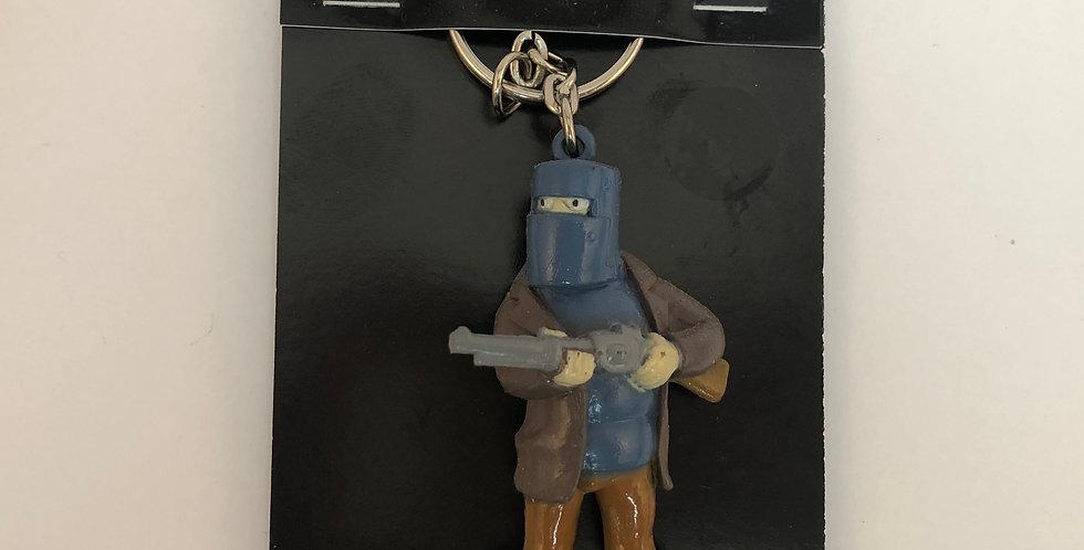 Ned Kelly Key Ring Shotgun