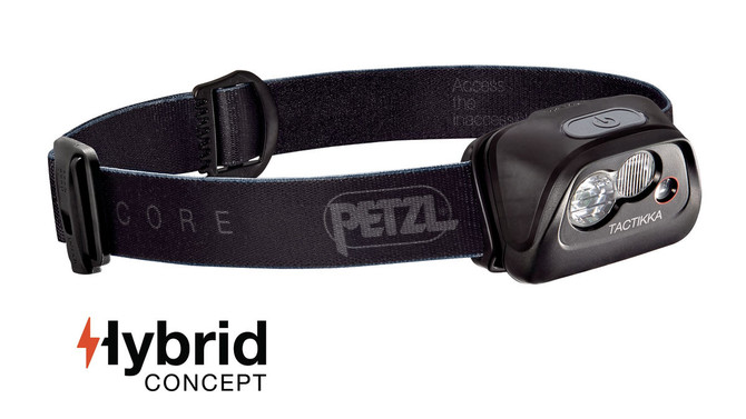New Petzl Headtorch - TACTIKKA® CORE