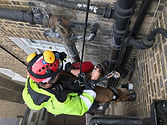 Abseiling plumbing - Mach Abseiling