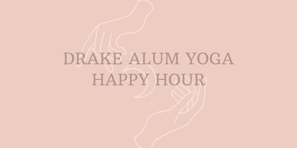 Drake Alum Yoga Happy Hour