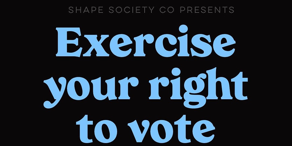 Exercise Your Right to Vote Donation Flow