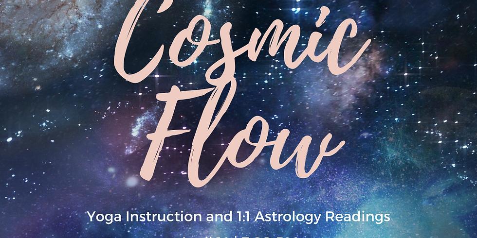 April Cosmic Flow