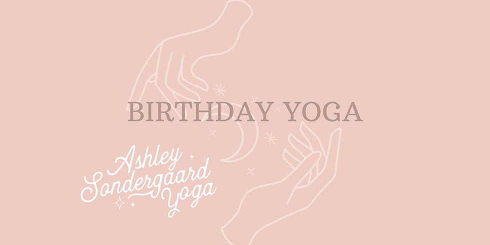 Birthday Yoga