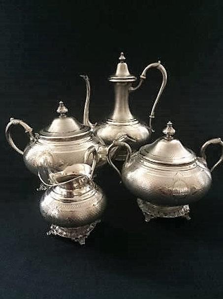 Service à café & thé 19ème siècle