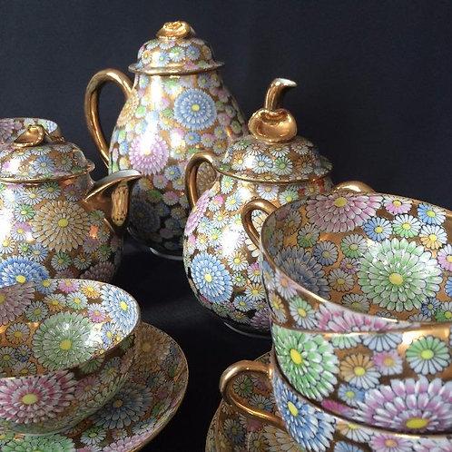Service à thé en porcelaine fine du Japon