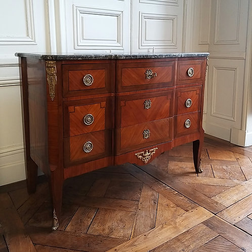 Commode Transition XIXe siècle chest of drawers 19th century