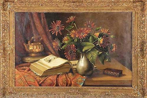 Piet COTTAAR (1878-1950) école hollandaise XIXe siècle huile sur toile