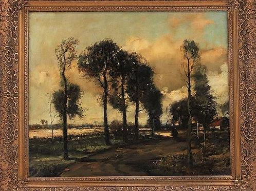 Ecole française du XIXe siècle tableau huile sur toile anonyme