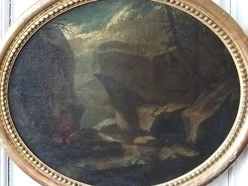 Pierre Jules BROCQ école française du XIXe siècle paire de tableaux