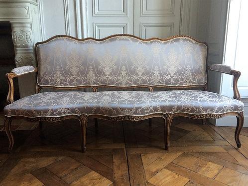 Canapé Régence époque XVIIIe siècle