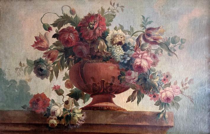 Trumeau de cheminée Louis XVI