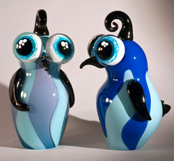 Loveguins blueberry pair