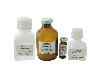 Lifeink 100 methacrylated collagen (PhotoCol) for 3D bioprinting