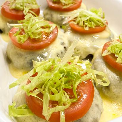 Hambúrguer com Queijo, Tomate e Alface
