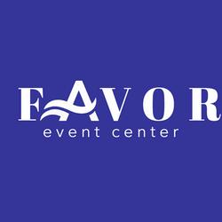 Favor Event Center logo- with Favor blue