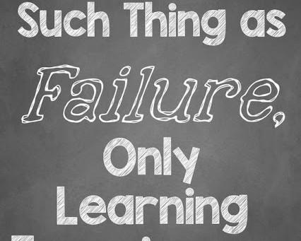 Today I Failed...