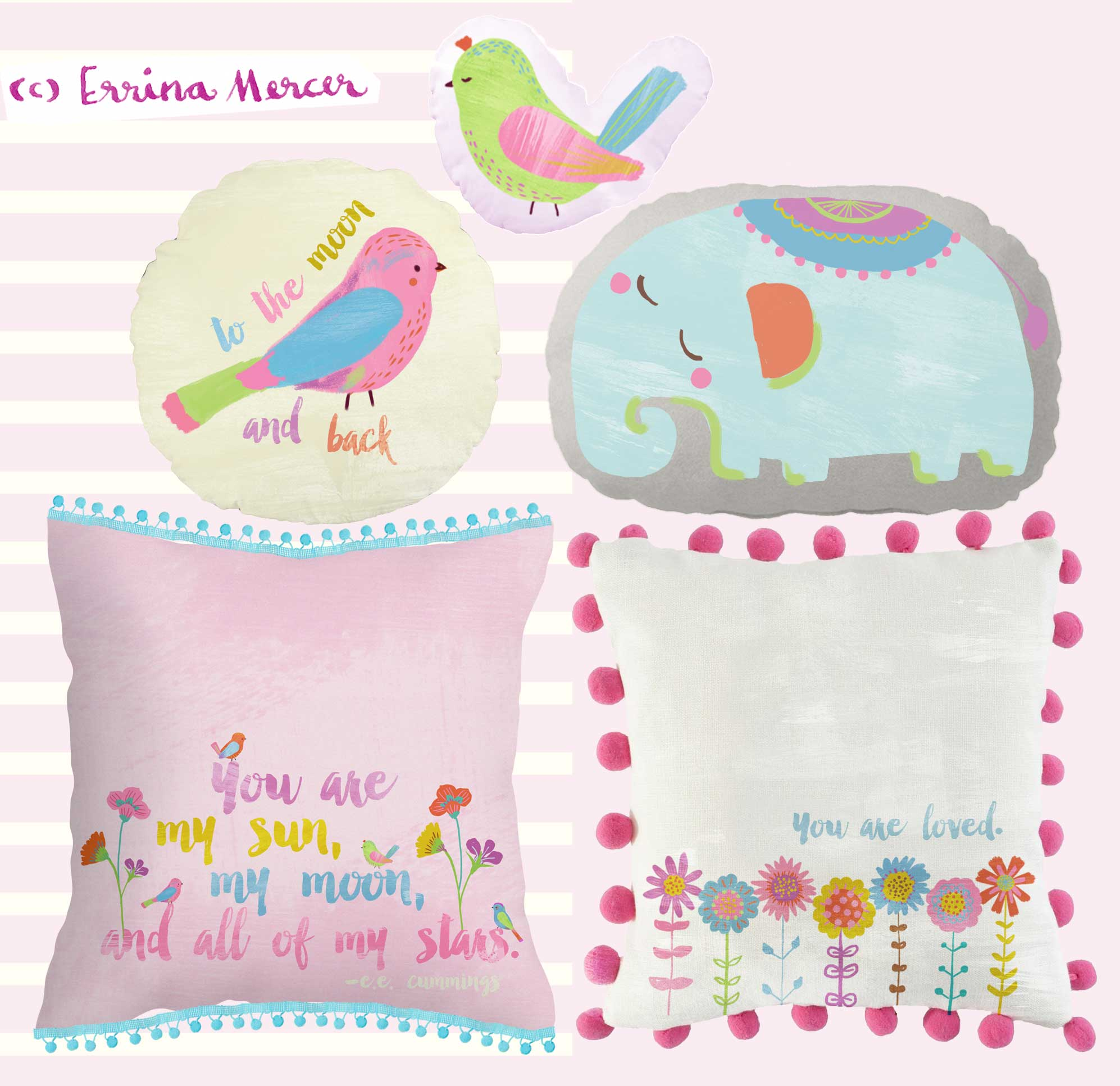 Baby-Cushions