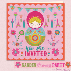 Princess-invite
