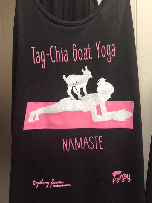 Tag-Chia goat yoga tank