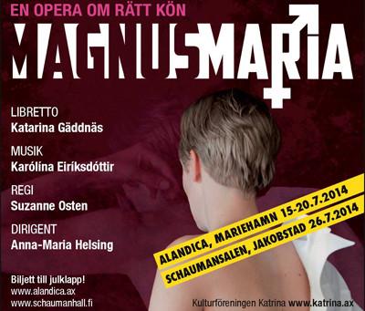 Magnusmaria - en opera om rätt kön