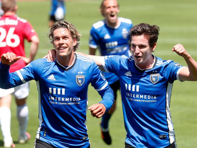 Earthquakes ease past Dallas in home opener