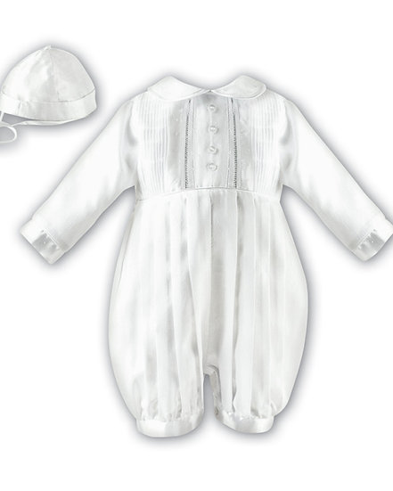 Sarah Louise Boys Christening Suit 002232 Long Sleeve Ivory