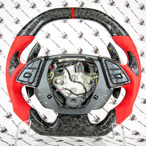 Chevrolet 2016+ 6th Gen Camaro Steering Wheel *Forged Carbon Fiber*
