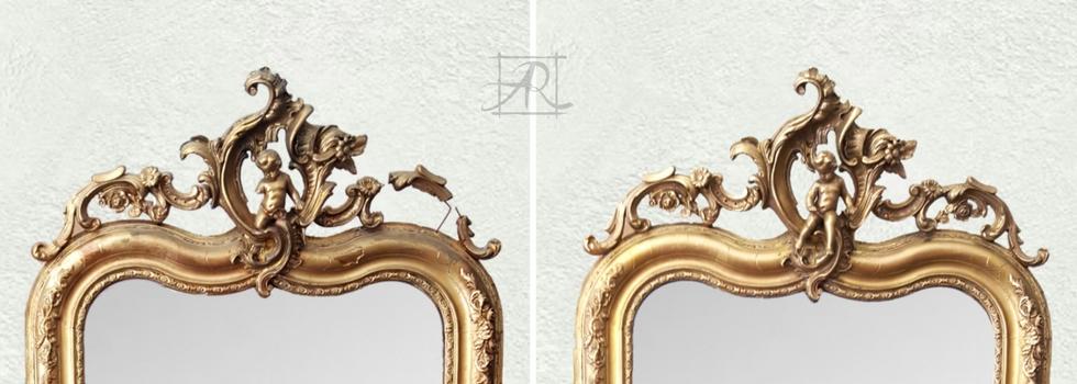 Miroir XIX eme