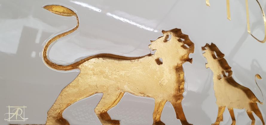 Dorure lion