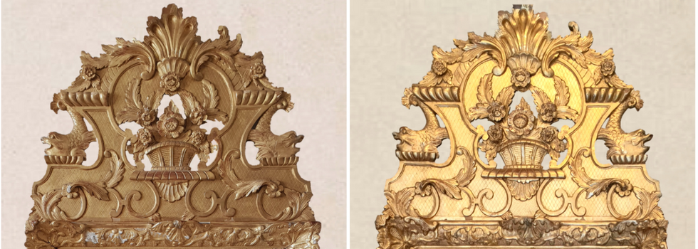 Miroir style Régence