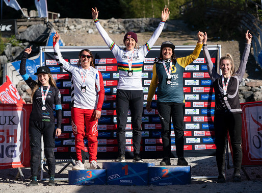 Double Win and a podium at Fort William UK Downhill Series!!