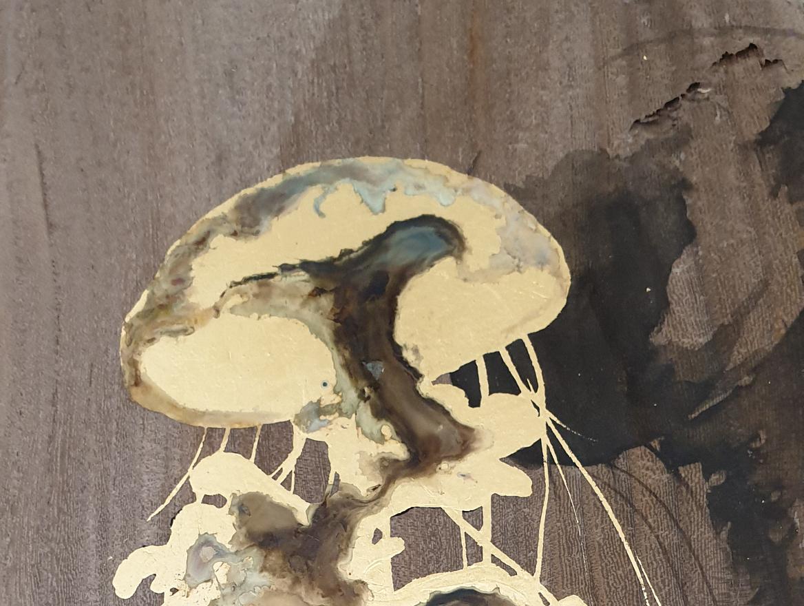 Duo aquarelle details