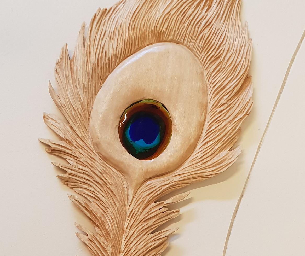 Sculpture plume
